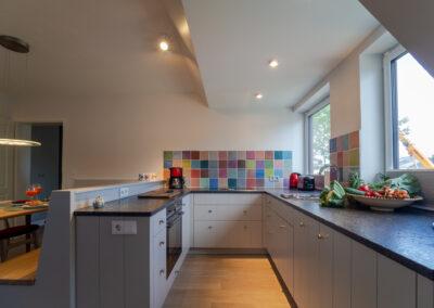 Küche Appartement 1 Haus Svenja